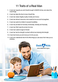 11 Traits of a Real Man
